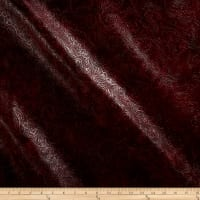 Faux Leather Textured Western Wine