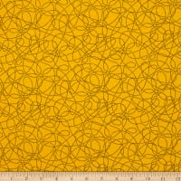 Breezy Blooms Scribble Dot Yellow