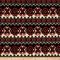 Hatchi Sweater Knits Aztec Star/Diamond Creme/Blue/Red