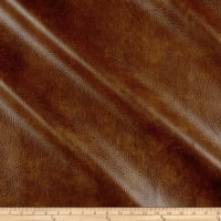 Richloom Tough Faux Leather Longville Cognac