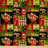 Jolly Ole' St. Nick Toy Patch Multi