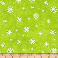 Jolly Ole' St. Nick Snowflake Green