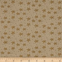 Celebrating Christmas Large Snowflakes Taupe