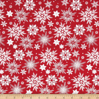 Holiday Homecoming Snowflake Red