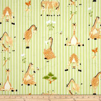 Susybee Zoe the Giraffe Stripe Green