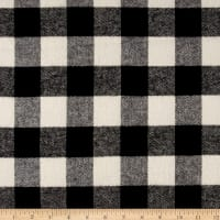 Primo Plaids Classics Flannel Buffalo Check Black