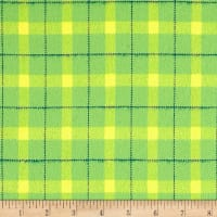 Marcus Primo Plaids Color Crush Flannel Block Plaid Lime