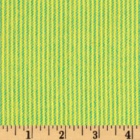 Marcus Primo Plaids Color Crush Flannel Small Stripe Green