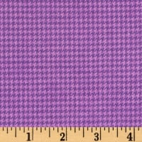 Marcus Primo Plaids Color Crush Flannel Houndstooth Purple