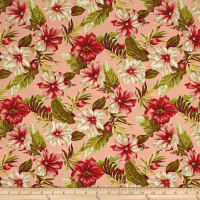 Moda Sunshine Hibiscus Flower Peach