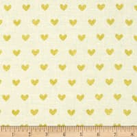 ADORNit Girls Gold Hearts Metallic