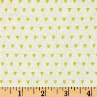 ADORNit Girls Gold Triangles Metallic