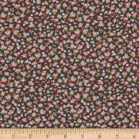 Moda Guernsey Isola Small Floral Charcoal