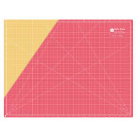 "Lori Holt Cutting Mat 18"" X 24"" Red"