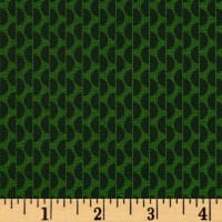 Denyse Schmidt Winter Walk Dot Rows Evergreen