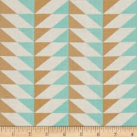 Joel Dewberry Modernist Arrowhead Blossom Aqua