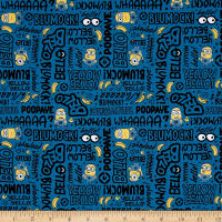 Millions Of Minions Minion Lingo Dark Blue
