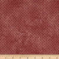 QT Fabrics Santoro All For Love Dots Dark Rose