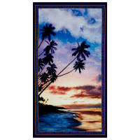 "Artworks Digital Bliss Palm Tree 23.5"" Panel Multi"