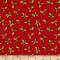 Lewis & Irene Small Things At Christmas Holly Red