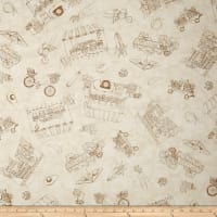 Maywood Studio From The Farm Toile Natural