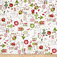 Maywood Studio Kimberbell Jingle All The Way Jingle Toss White