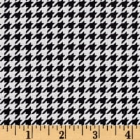 Maywood Studio Kimberbell Basics Houndstooth Black