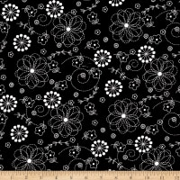 Maywood Studio Kimberbell Basics Doodles Black