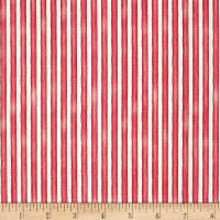 Maywood Studio Roam Sweet Home Awning Stripe Soft Red