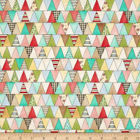 Maywood Studio Roam Sweet Home Pennant Patchwork Multi