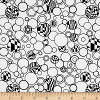 Contempo Anything Goes Bubbles White