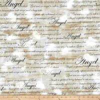 Kanvas Heaven Sent Angel Script Tan
