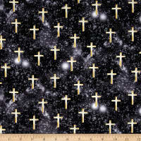 Kanvas Heaven Sent Luminated Cross Black
