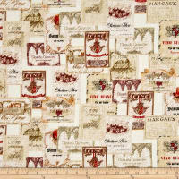 Kanvas Vineyard Classics II Vineyard Labels Cream