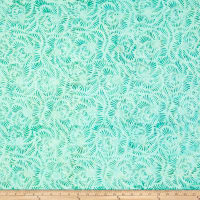 Colorama Batiks Palm Swirl Aqua