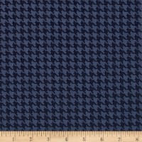 The Dog Gone It Collection Houndstooth Dark Blue