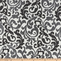 Kelly Ripa Home Graceful Curves Jacquard Ebony