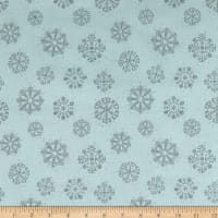 Magic of the Season Snowflakes Blue