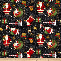 Santa's Big Night Santas' Big Night Toss Black