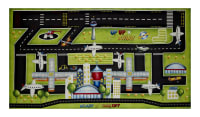 "Ready For Takeoff Playmat 25"" Panel Multi"