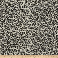 Stretch Lace Cheetah Black/White
