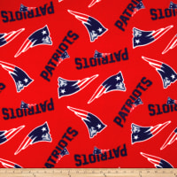 NFL Fleece New England Patriots Tossed Red