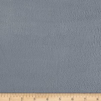Michael Miller Minky Solid Grey