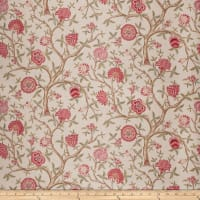 French General Antoinette Linen Blend Vintage Rose