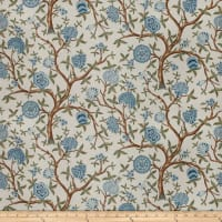 French General Antoinette Linen Blend Bleu