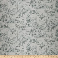 French General Arbe Toile Linen Blend La Mer