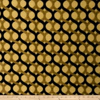 Fabricut Outlet Armstrong Chenille Blackgold