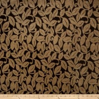 Fabricut Outlet Botanical Chenille Tobacco