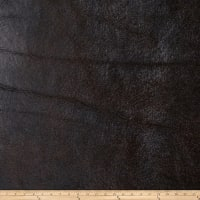 Fabricut Bronze Faux Leather Chestnut