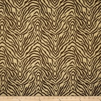 Fabricut Celebrity Zebra Silk Chocolate